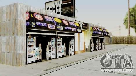 LS Chigasaki Store v3 para GTA San Andreas tercera pantalla