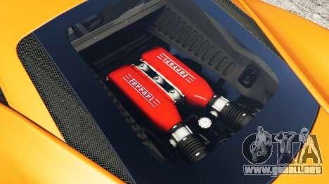 Ferrari 458 Italia 2009 para GTA 5