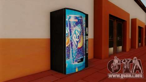Rani Juice Machine para GTA San Andreas segunda pantalla
