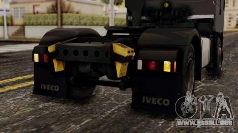 Iveco EuroStar Low Cab para vista inferior GTA San Andreas