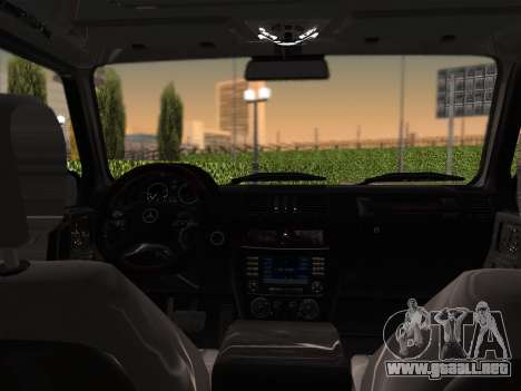 Mercedes-Benz G500 para vista lateral GTA San Andreas