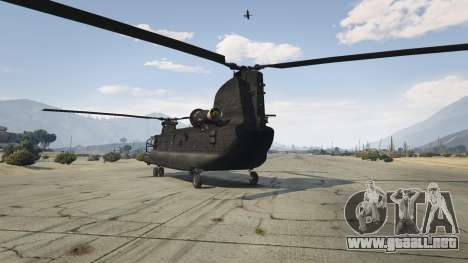 GTA 5 MH-47G Chinook tercera captura de pantalla