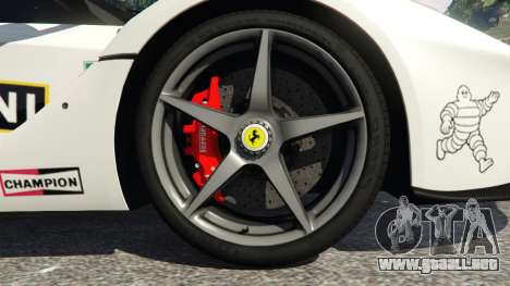 Ferrari LaFerrari 2013 v2.0 para GTA 5