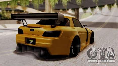 Honda S2000 GT1 para GTA San Andreas left