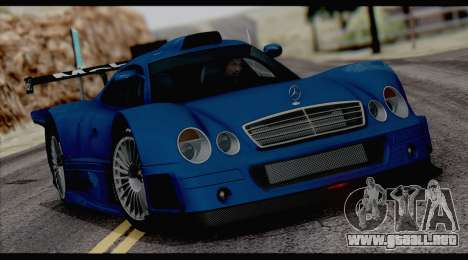C3pot ENB para GTA San Andreas sucesivamente de pantalla