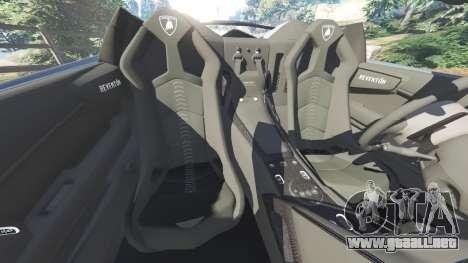 GTA 5 Lamborghini Reventon Roadster [Beta] volante