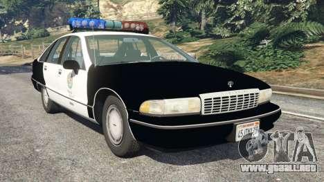 Chevrolet Caprice 1991 LSPD para GTA 5