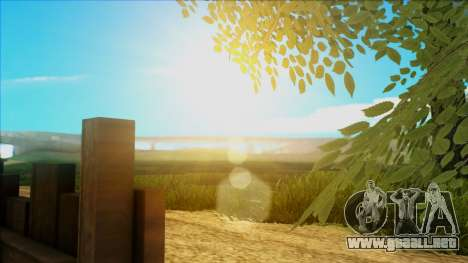 Fantastic ENB para GTA San Andreas sexta pantalla