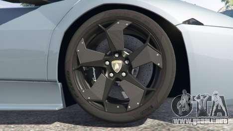 GTA 5 Lamborghini Reventon Roadster [Beta] vista lateral derecha