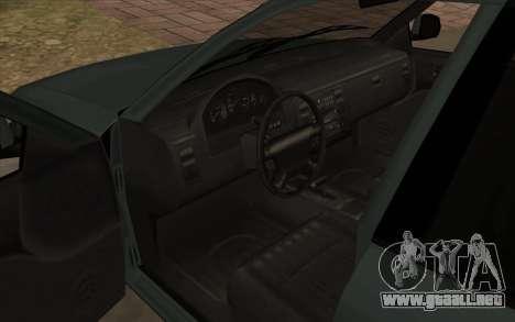 Ford Crown Victoria 1995 SA de Estilo para visión interna GTA San Andreas