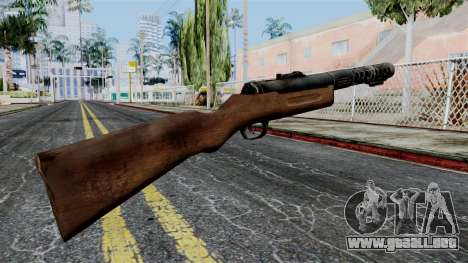 MP18 from Battlefield 1942 para GTA San Andreas segunda pantalla