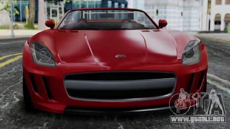 GTA 5 Benefactor Surano v2 IVF para GTA San Andreas vista hacia atrás