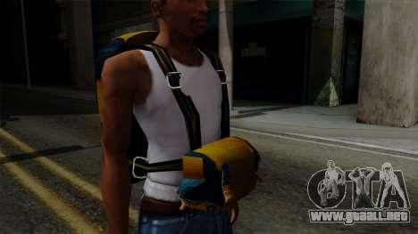 Brasileiro Parachute v2 para GTA San Andreas sucesivamente de pantalla