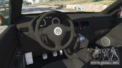 GTA 5 Volkswagen Bora vista lateral derecha