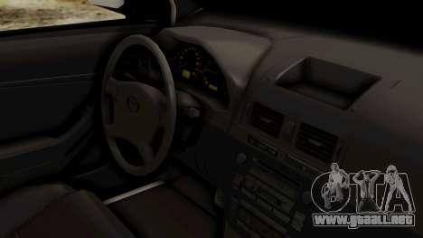 Toyota Hilux CICPC 2007 para la visión correcta GTA San Andreas