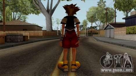 Kingdom Hearts 2 - Sora KH1 Costume para GTA San Andreas tercera pantalla