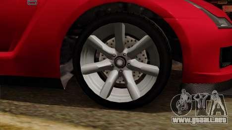 GTA 5 Elegy RH8 para la visión correcta GTA San Andreas