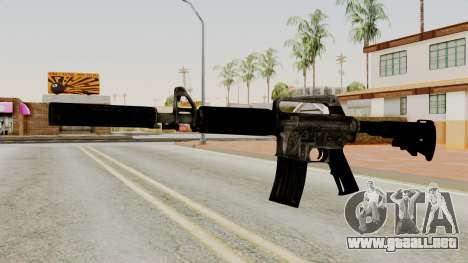 M4A1-S Basilisk para GTA San Andreas
