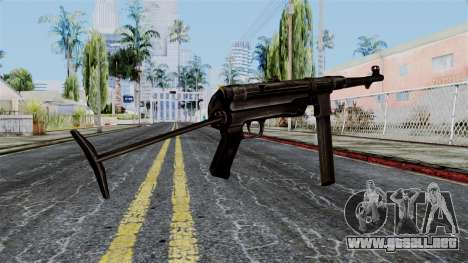 MP40 from Battlefield 1942 para GTA San Andreas segunda pantalla