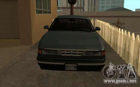 Ford Crown Victoria 1995 SA de Estilo para GTA San Andreas left