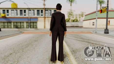 DOA 5 Miyako para GTA San Andreas tercera pantalla