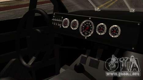 Pontiac GranPrix Hotring 1981 IVF para la visión correcta GTA San Andreas