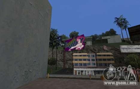 Candy Suxx de la cartelera de reemplazo para GTA San Andreas tercera pantalla