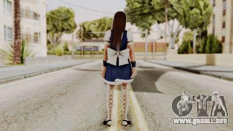 DOA 5 Leifang Maid para GTA San Andreas tercera pantalla