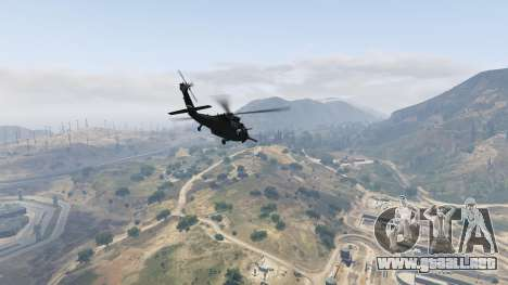 GTA 5 MH-60L Black Hawk sexta captura de pantalla