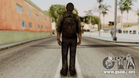 Joel - The Last Of Us para GTA San Andreas tercera pantalla