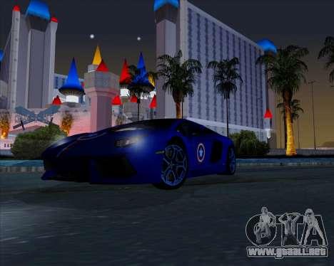 Vitesse ENB V1.1 Low PC para GTA San Andreas quinta pantalla