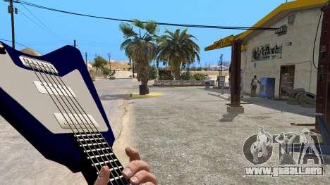 GTA 5 Gibson Flying V segunda captura de pantalla