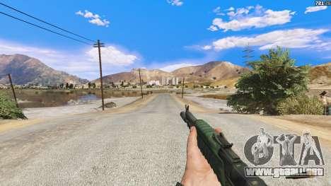GTA 5 El AEK-971 из Battlefield 4 cuarto captura de pantalla