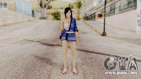 DOA 5 Kokoro DLC para GTA San Andreas segunda pantalla