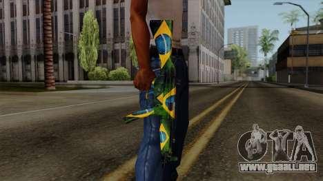 Brasileiro MP5 v2 para GTA San Andreas tercera pantalla