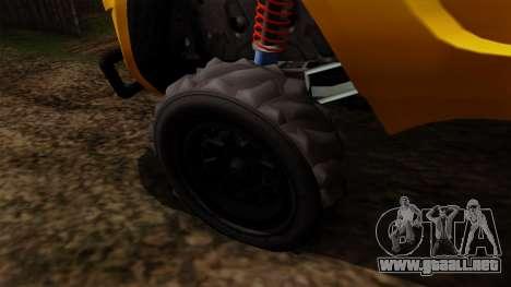 GTA 5 Coil Brawler para GTA San Andreas vista posterior izquierda