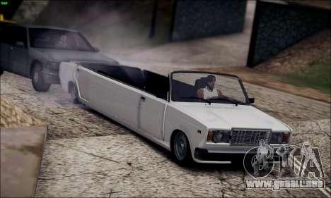 VAZ 2107 limusina para GTA San Andreas