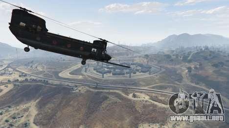 GTA 5 MH-47G Chinook sexta captura de pantalla