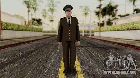 Suboficial mayor de la fuerza aérea para GTA San Andreas segunda pantalla