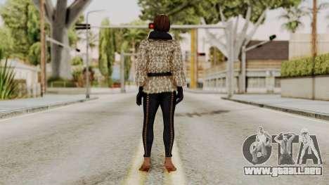 DOA 5 Lisa Hamilton Fashion para GTA San Andreas tercera pantalla