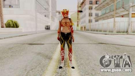 DOA 5 LaMariposa para GTA San Andreas segunda pantalla