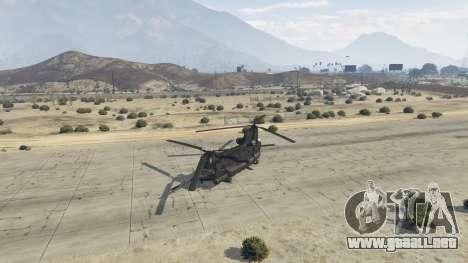 GTA 5 MH-47G Chinook cuarto captura de pantalla
