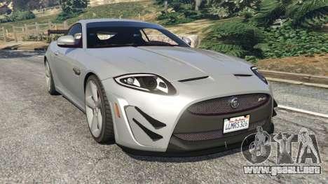 Jaguar XKR-S GT 2013 para GTA 5