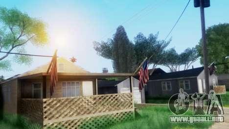 Project Reborn ENB Series para GTA San Andreas sucesivamente de pantalla
