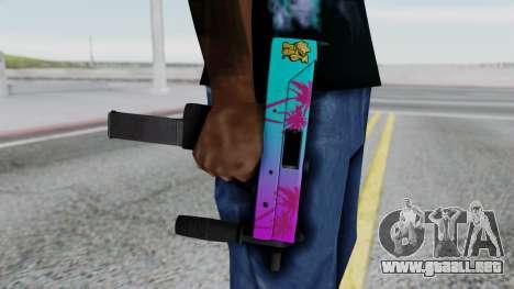 MAC-10 Hotline Miami para GTA San Andreas tercera pantalla