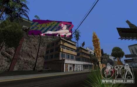 Candy Suxx de la cartelera de reemplazo para GTA San Andreas sucesivamente de pantalla