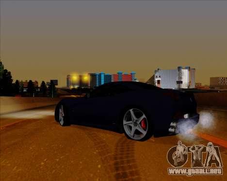 Vitesse ENB V1.1 Low PC para GTA San Andreas sucesivamente de pantalla