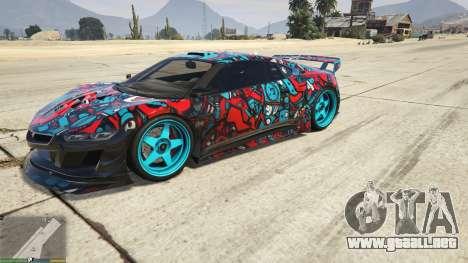 Dinka Jester (Carreras) de la etiqueta Engomada  para GTA 5