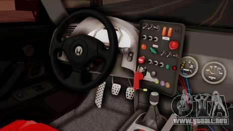 Honda S2000 GT1 para la visión correcta GTA San Andreas