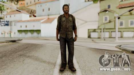Joel - The Last Of Us para GTA San Andreas segunda pantalla